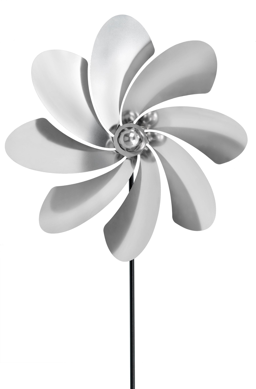Wind Spinner Stake Metal Flower Windmill Whirligig Garden Copper Kinetic Catcher