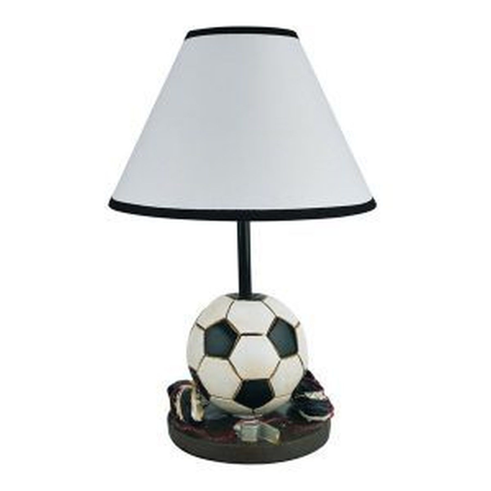 "Youth Soccer 15.75"" H Table Lamp with Empire Shade"