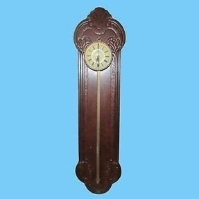 Colonial of zeeland anno 1750 gravity saw tooth wall clock