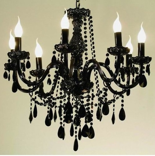 Gothic 8 Light Chandelier
