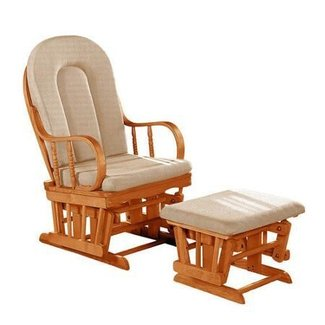 Phenomenal Oak Gliders Ideas On Foter Squirreltailoven Fun Painted Chair Ideas Images Squirreltailovenorg