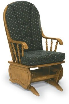 Exceptionnel Newport Bow Back Solid Oak Glider Rocker 550