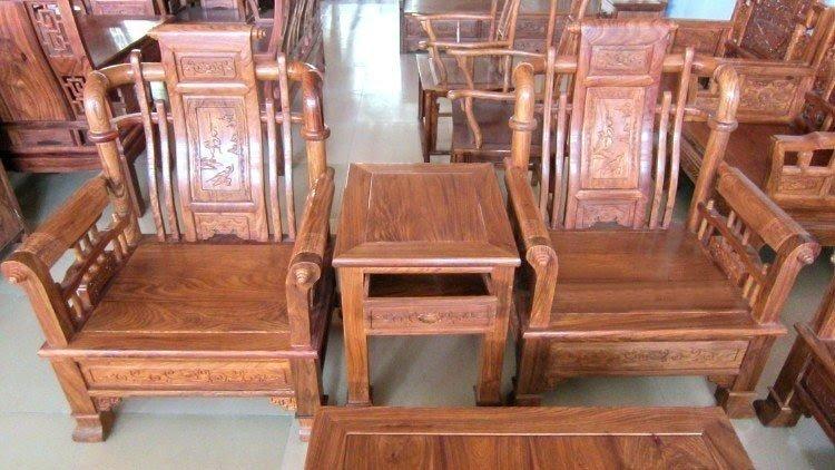 Rosewood Living Room Furniture 2