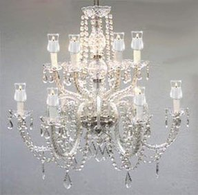 Votive candle chandelier