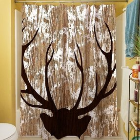 Wilderness Deer Shower Curtain