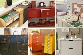 Attirant Stylish Filing Cabinets