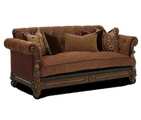 Leather And Fabric Sectional Sofas