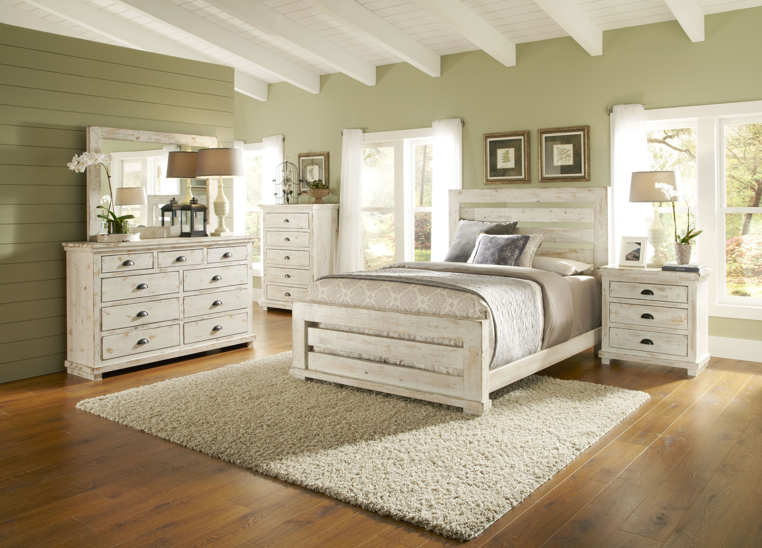 Luxury White Bedroom Sets Plans Free