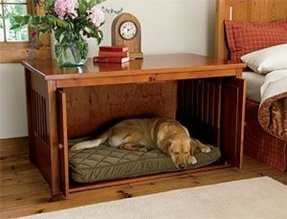 Nightstand Dog Crate Ideas On Foter