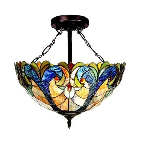 Tiffany style ceiling fan light shades foter tiffany style ceiling fan light shades mozeypictures Choice Image