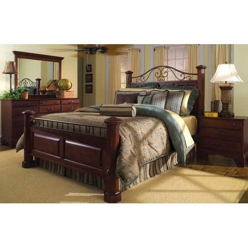 Wood And Wrought Iron Bedroom Sets 3