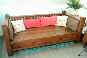 Wooden daybeds with trundle