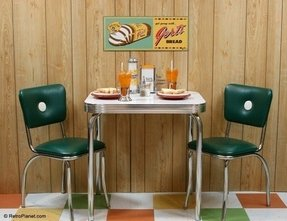 If youre wild about the retro look consider a dining
