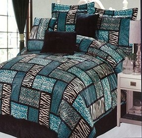 Animal print bedding sets queen 6