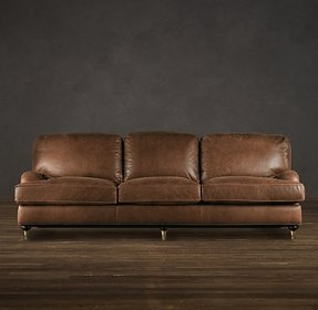 Down Filled Leather Sofa Foter