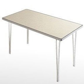 Light folding table