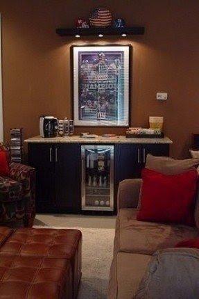 Mini Refrigerator Cabinet Bar 13