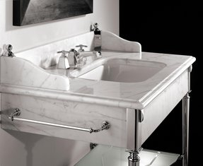 Console Sink With Metal Legs Foter
