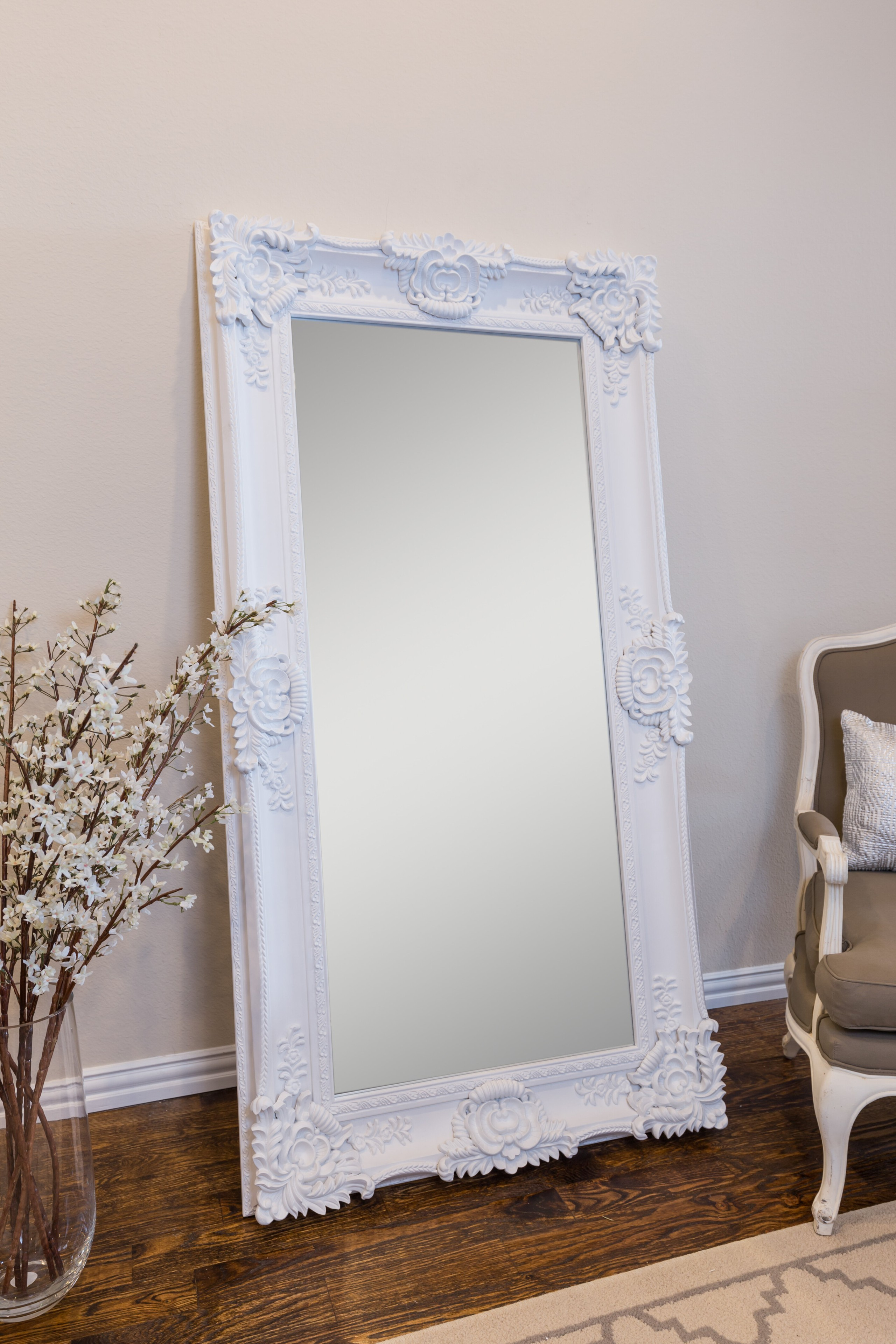 Wooden Mirror Stand Designs : Large mirror stand ideas on foter
