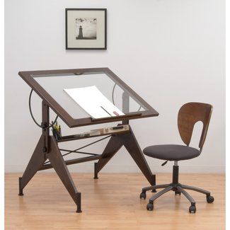 Aries Height Adjustable Drafting Table