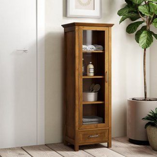 "Bayard 17"" W x 48.5"" H Linen Storage Tower"