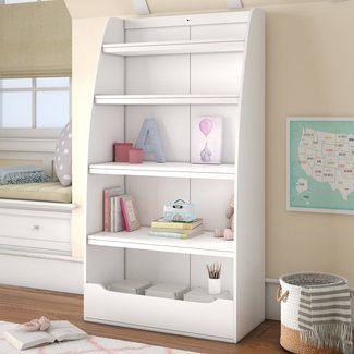 "Besse Kids 4 Shelf 60"" Bookcase"