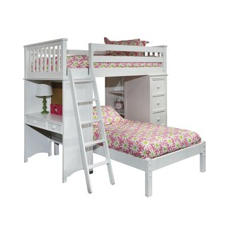 Birch Wood Twin Loft Bed