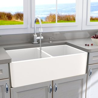 Drop In Farmhouse Kitchen Sink - Foter