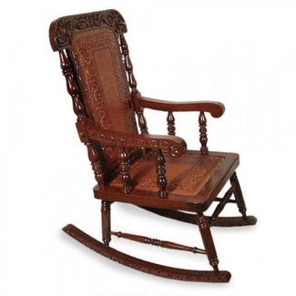 Cedar Wood Rocking Chair