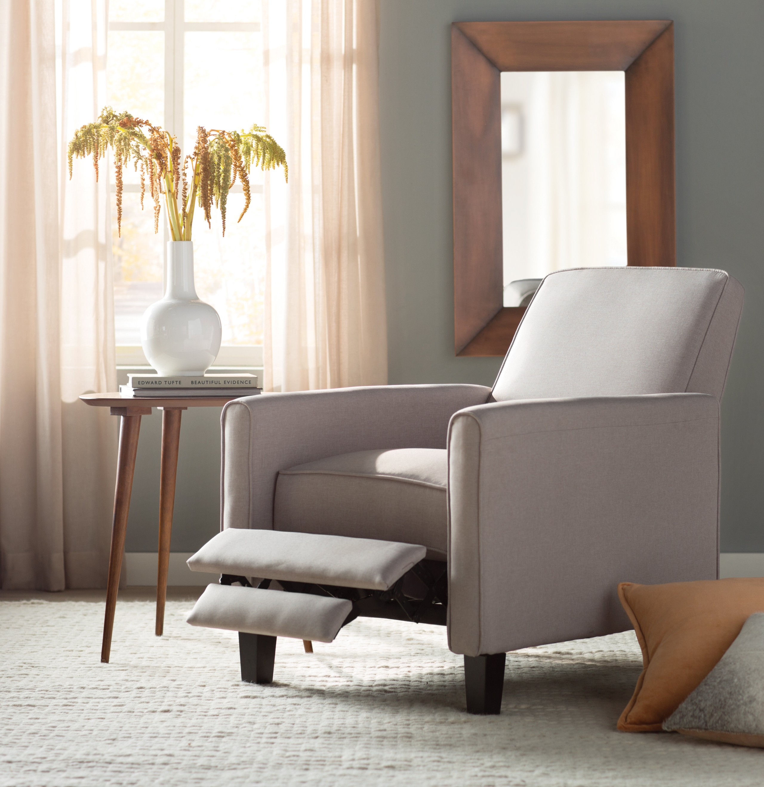 Compact Polyester Blend Manual Recliner & IKEA Recliner Chair - To Buy or Not in IKEA? - Foter