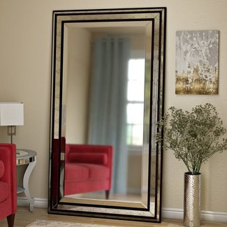 Contemporary Full Length Free Standing Mirror