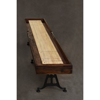 District Eight 12' Shuffleboard Table