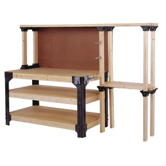 DIY Easy To Build Workbench Kit