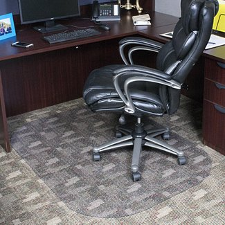 Evolve Low Pile Carpet Rectangular Chair Mat