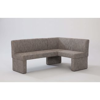 Fabric Upholstered Corner Breakfast Bench
