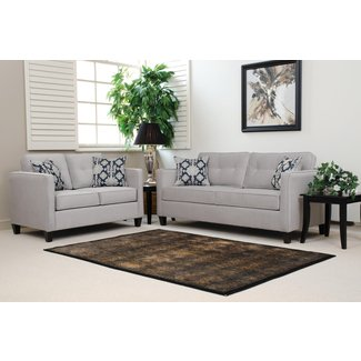 Full Silver Polyester Sleeper Sofa