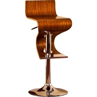 Futuristic Adjustable Swivel Barstool