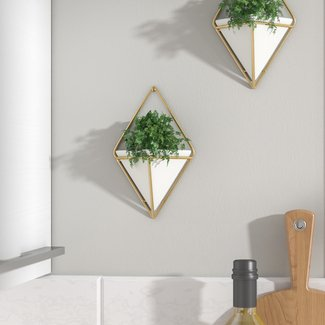 Futuristic Wall Décor Hanging Planters