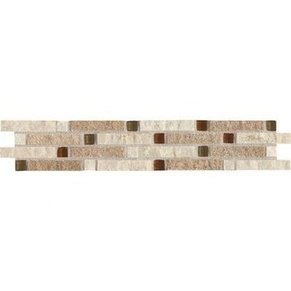 Glazed Rectangular Ceramic Border Tile