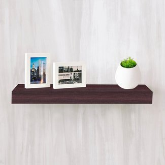 Handy Floating Shelf With Solid Oak Veneers