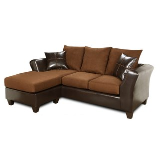 Hardwood Reversible Sectional With Chaise