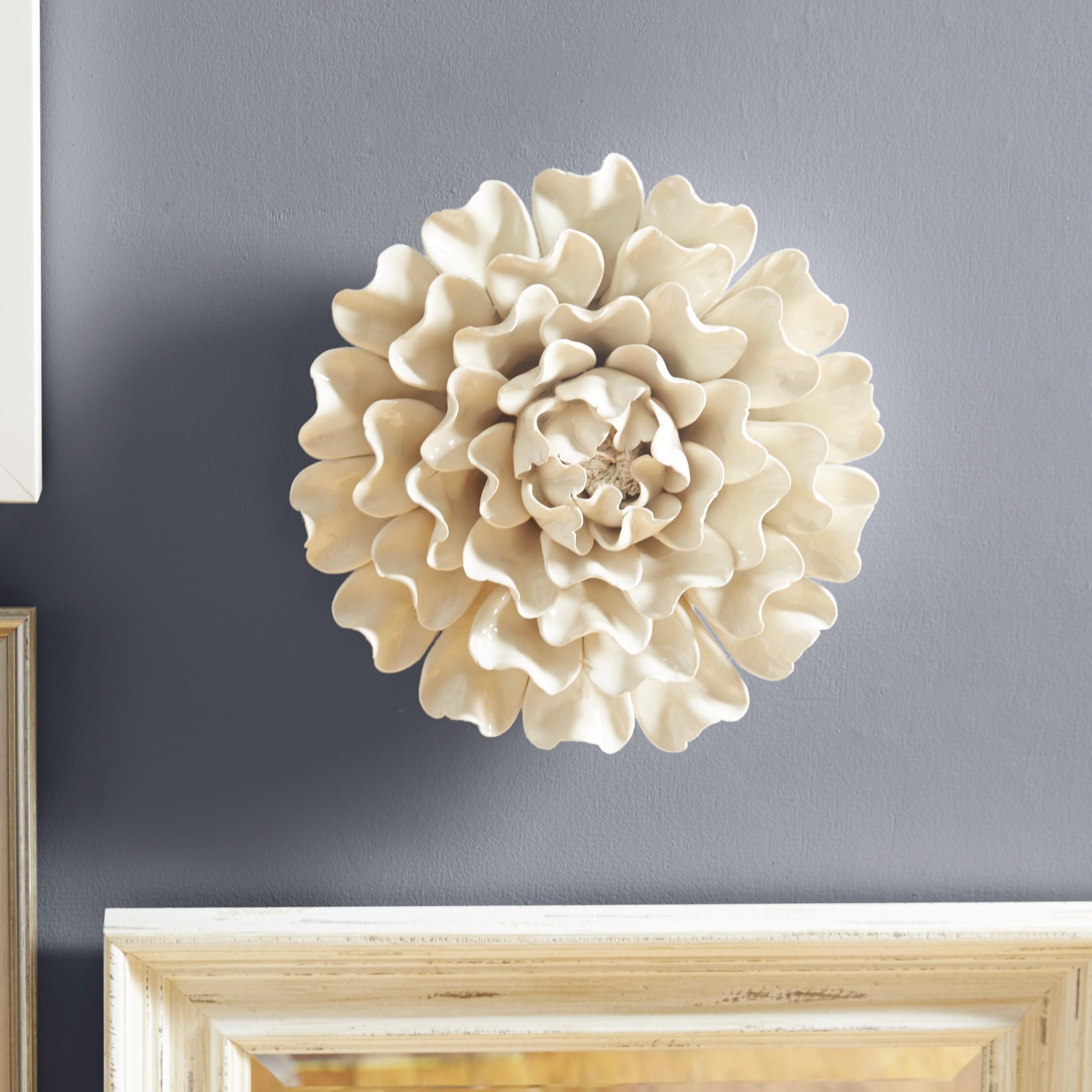 Ceramic Flower Wall Art for 2020 , Ideas on Foter