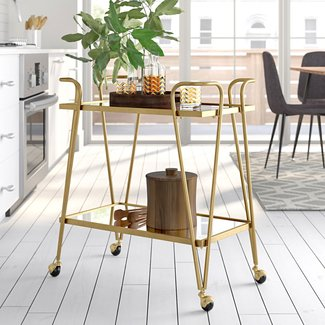 Laurence Mid-Century Bar Cart
