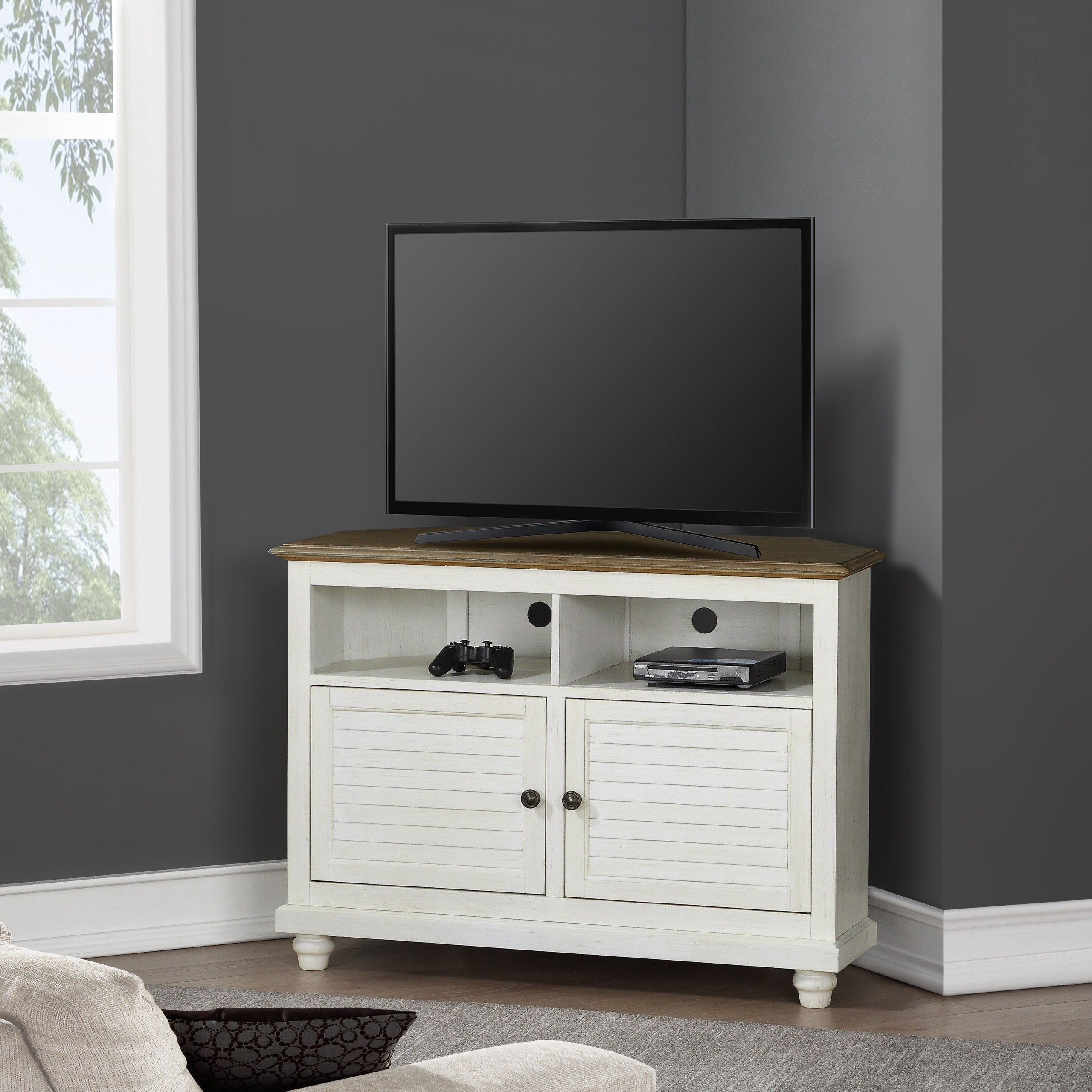 Macdonald Corner TV Stand for TVs up to 50 inches
