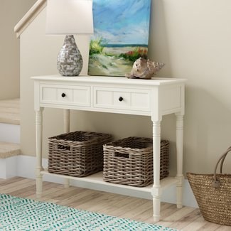 "Manning 35.5"" Solid Wood Console Table"