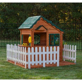 Mayfield Cottage 6' x 7' Playhouse (Wayfair Exclusive)