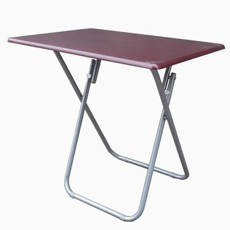 Metal OverSized Folding TV Tray Table