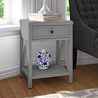Nealon End Table with Storage