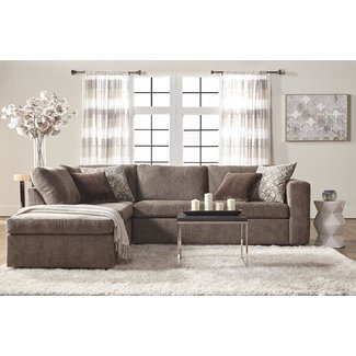 "Nowicki 96.9"" Left Hand Facing Sectional"