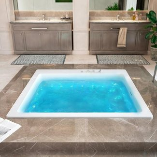 oversized private bathtubs | Extra Wide Bathtub - Ideas on Foter